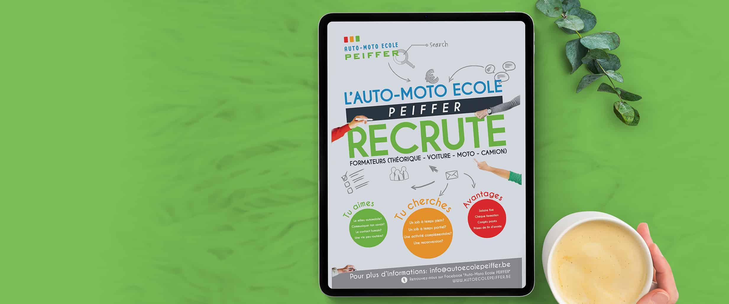 Auto Moto Ecole Peiffer Recrute