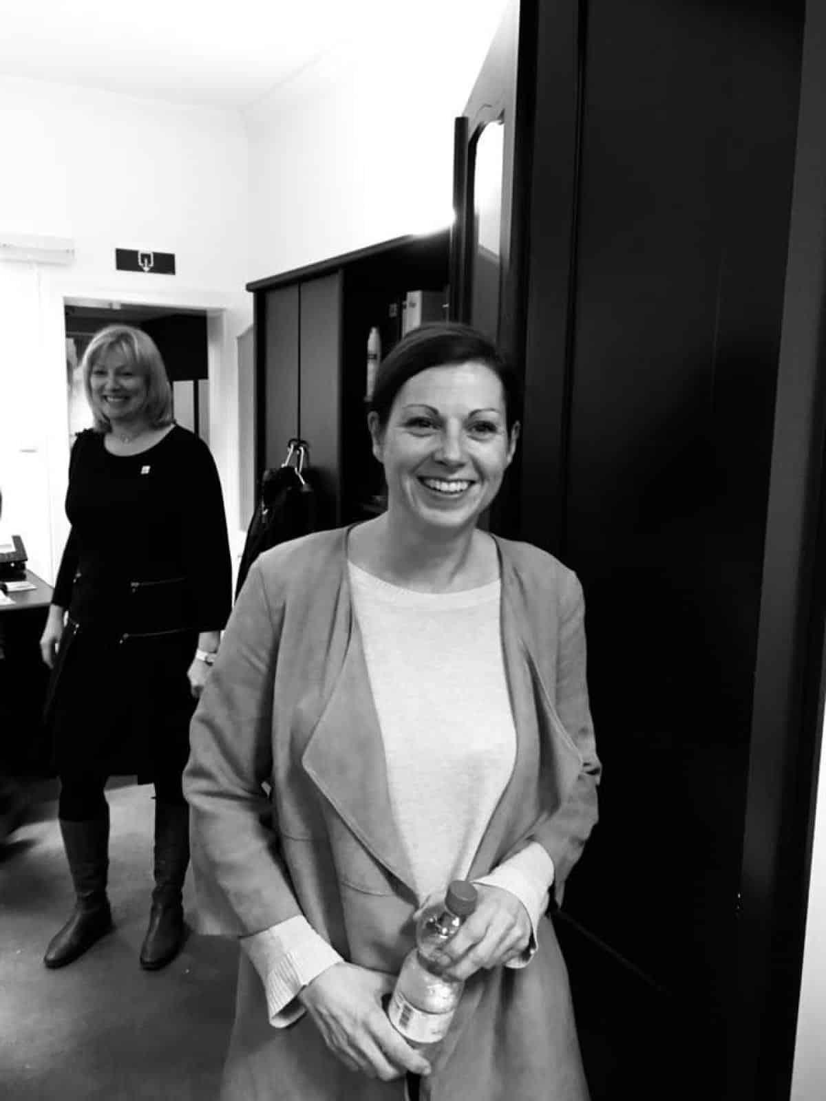 CL, monitrice à Verviers