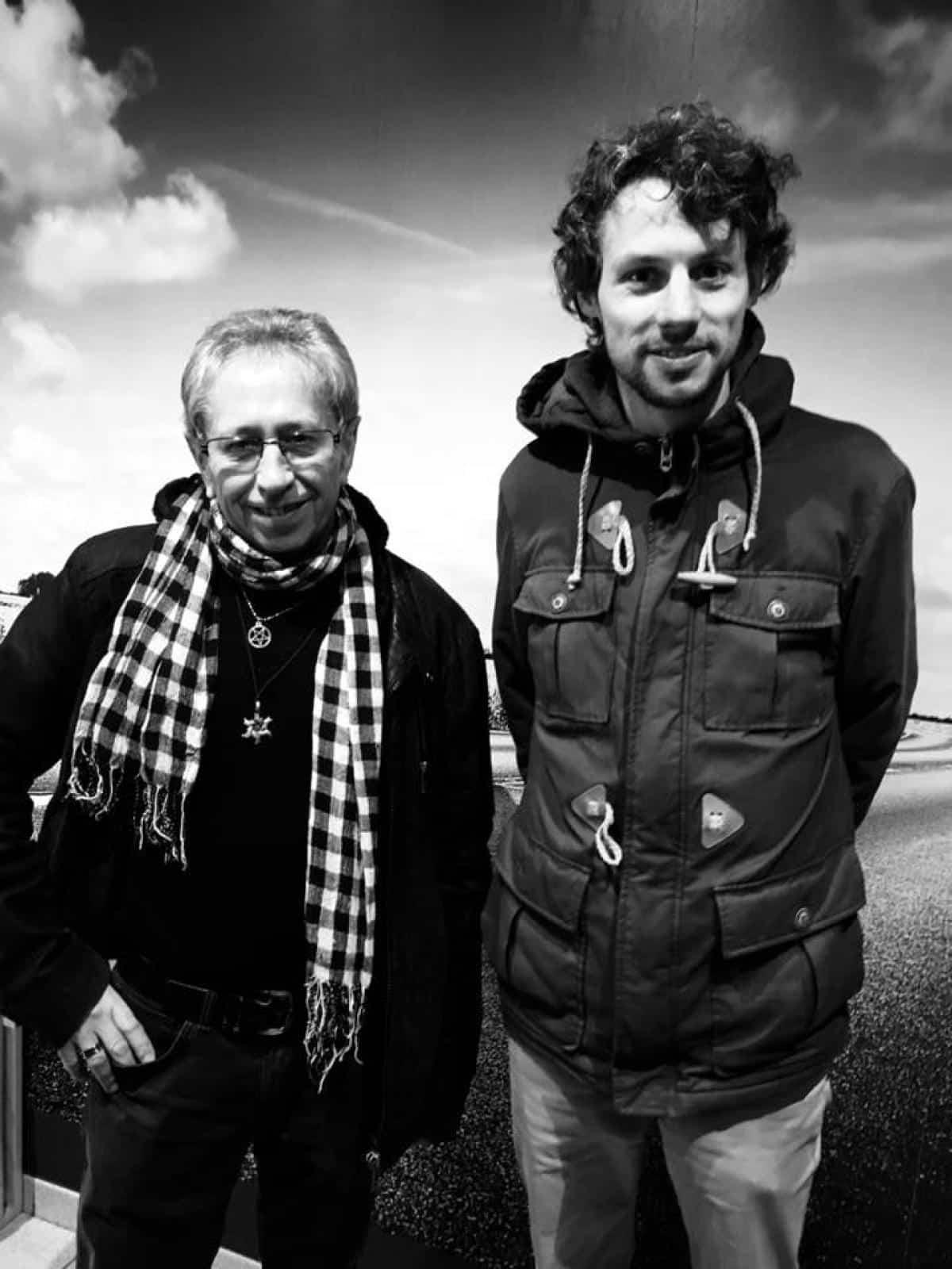 Marcel Kupper et Gauthier Van Weerst, moniteurs à Verviers