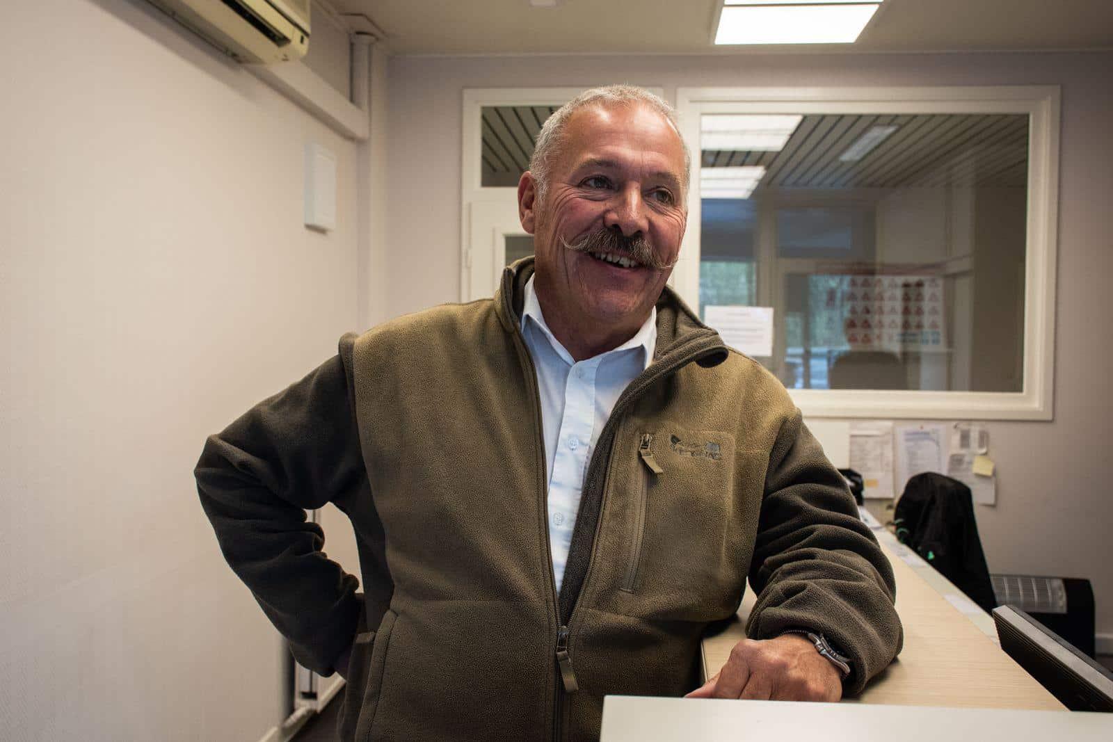 Marc-Eric Joosten, moniteur à Verviers