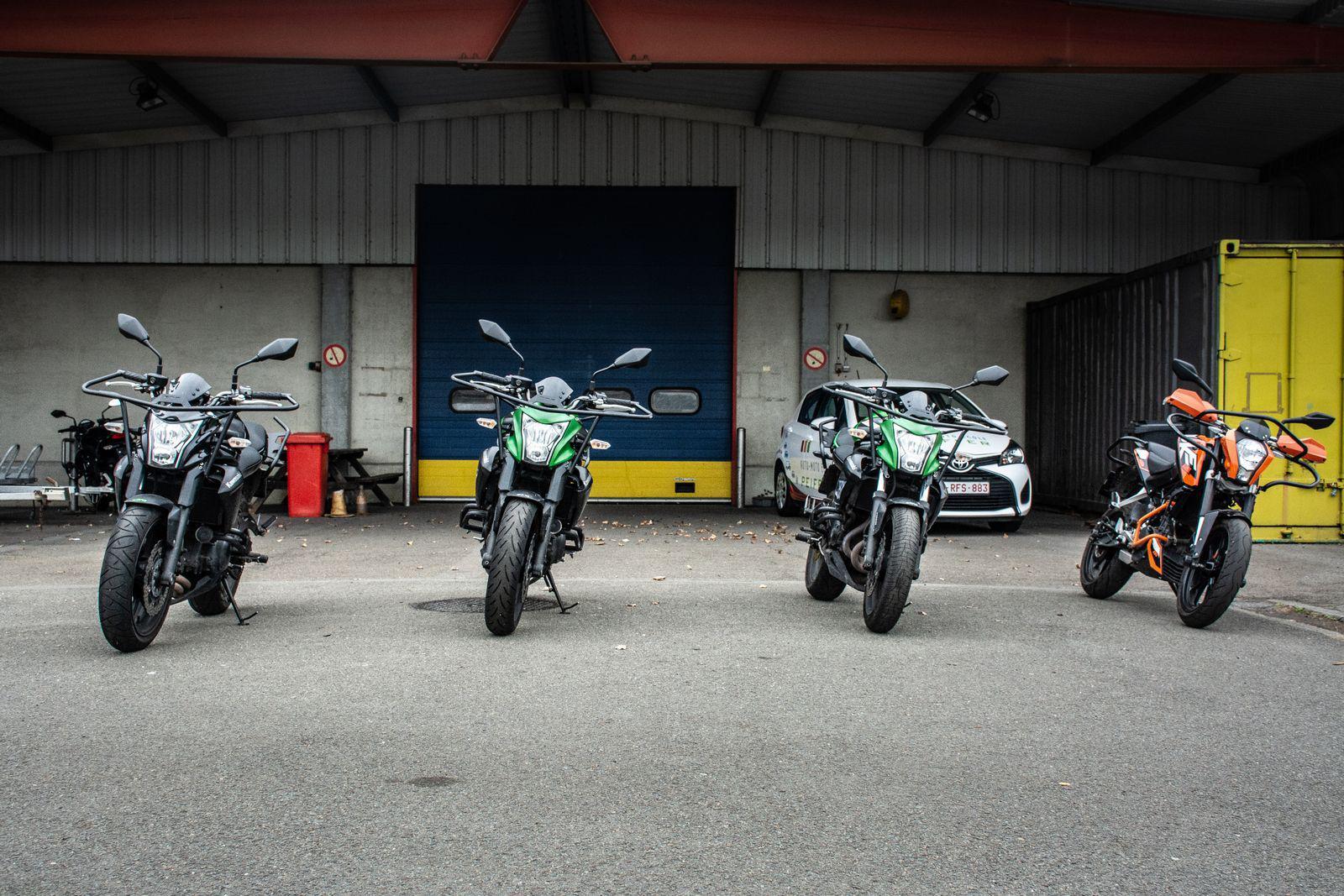moto-école Province de Liège