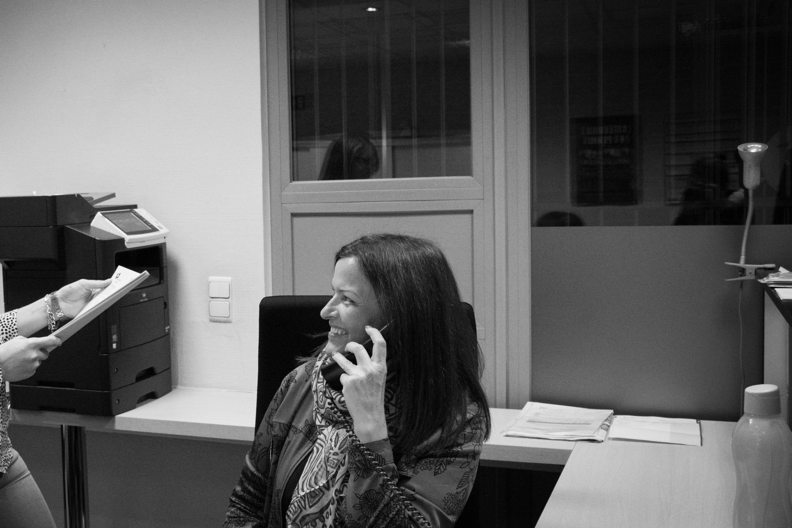 Isabel Garcia, bureau de Liège